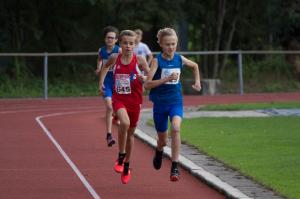 Verbetering clubrecord 1.000m door Luuk